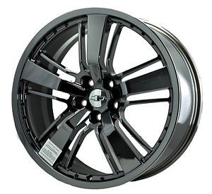 Chevrolet Camaro PVD Black Chrome Wheels Factory Rim 5468 Exchange 2010 2014