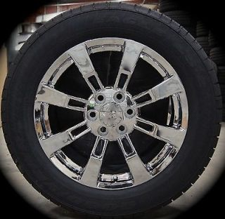 "New Nissan Titan Armada QX56 Chrome 20"" Wheels Rims Gdyr Tires 04 13 Free SHIP"