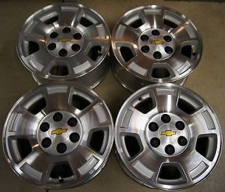 "Chevy Silverado Suburban Tahoe Avalanche Express 17"" Factory Wheels Rims 32"