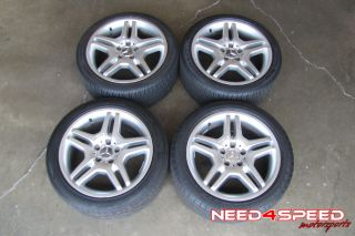 "18"" Factory Mercedes Benz W215 CL500 CL55 CL600 AMG Wheels Rims Tires"