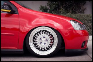 "18"" Avant Garde M220 Staggered Wheels Rims Fits Volkswagen MK5 MK6 GTI Rabbit"