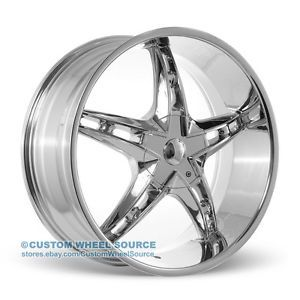 "20"" Velocity VW930 Chrome Rims Fits Infinity Jaguar Lexus Wheels"