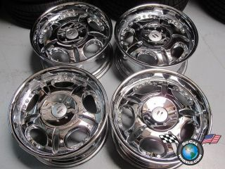 Four Dodge RAM 1500 18 Chrome Wheels Rims Helo 5x5 5