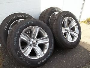 "2013 Dodge RAM 1500 20"" Factory Wheels Goodyear P275 60R20 Tires"