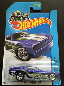 2013 Hot Wheels Jason Richman Tampo '71 Mustang Funny Car HW City 99 250