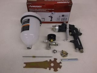 Husky Gravity Feed Composite HVLP Spray Gun Paint Sprayer H4850GHVSG 762096