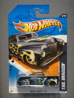 Hot Wheels Heat Fleet '11 Tail Dragger 8 Diecast Car New Mattel