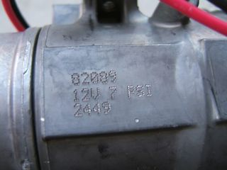 Stewart Warner 82089 Electric Fuel Pump 12V 4 7 PSI Fuel Transfer Pump