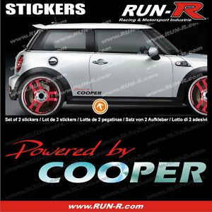 Mini Cooper Sticker Decal Countryman Clubman Coupe Mini Aufkleber MI134