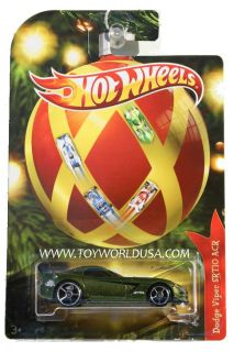 2011 Hot Wheels Holiday Hot Rods Dodge Viper SRT10 ACR