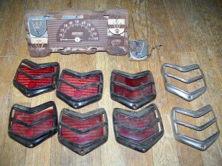 1940 Ford Parts Lot Hot Rat Rod Gasser Flathead