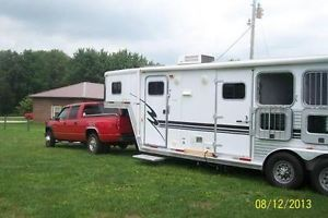 7x7 Horse Trailer with Living Quarters
