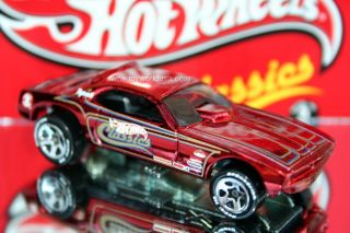 Hot Wheels Classics Series 2 28 Plymouth Barracuda Funny Car Drk Red