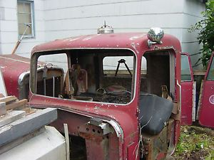 1965 Kenworth Truck A Model Cab Doors and Hood