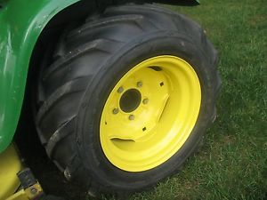 John Deere 23x10 5x12 Goodyear AG Bar Tires and Rims