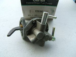 New Carter 41630 Mechanical Fuel Pump Toyota Corolla