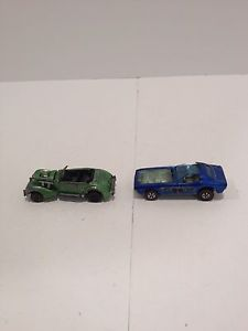 2 RARE Redline Hot Wheels for Restoration Bye Focal Classic Cord Lot B27