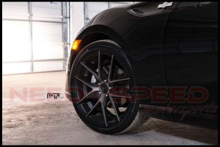"20"" Niche Targa Black Fits Ford Mustang GT Concave Wheels Rims"