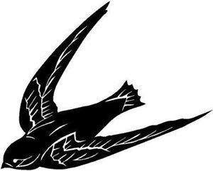Swallow Vinyl Decal Car Cycle Truck Window Sticker