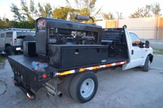 2006 Ford F350 Diesel Flat Bed Mobile Welding Utility Bed Make OFFER