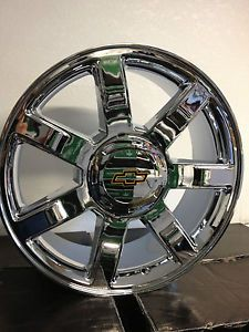 22 inch Chrome Cadillac Escalade OE Factory Wheels Rims Chevrolet Tahoe LTZ 22""