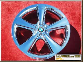 BMW 745LI 750i 750LI 21 inch Chrome Wheels Rims X4