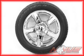 "New 20"" Chevy Tahoe LTZ Silverado Chrome GMC Yukon Sierra Wheels Tires 22"