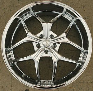 Legacy LG512 22 x 8 0 Chrome Rims Wheels Nissan Maxima 94 Up 5H 38