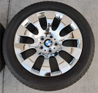 "18"" BMW 7 Series Brand New Chrome Wheels Tires"