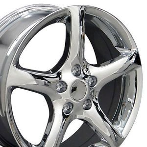"17"" Chrome Maxima Altima Wheels Set of 4 Rims Fit Nissan Maxima 300zx 350Z 370Z"