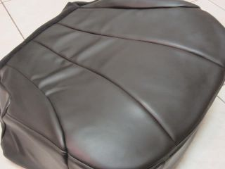 99 02 Chevy Silverado Service Utility Bed Driver Bottom Vinyl Seat Cover DK Gray
