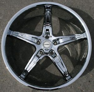 "Strada Riga 20"" Chrome Rims Wheels Honda Accord 5 Lug"