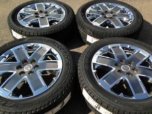 "GMC Acadia Denali 20"" Chrome Wheels Rims Tires"