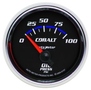 Auto Meter 6127 Cobalt Electric Oil Pressure Gauge
