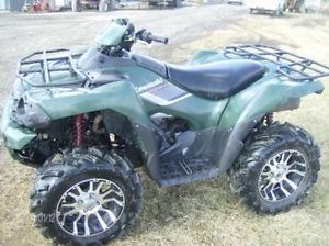 2009 Kawasaki Brute Force 750cc 4x4 Winch ITP Wheels Rims Low Miles