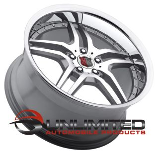 "19"" MRR RW2 Silver Chrome Wheels Rims Fit Mercedes CLK W208 W209 1996 2009"