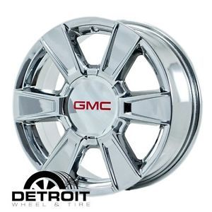 GMC Terrain PVD Bright Chrome Wheels Factory Rim 5449 Exchange 2010 2011