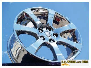 "Set of 4 New Chrome 18"" Nissan Maxima Wheels Rims Altima Murano 350Z 62475"