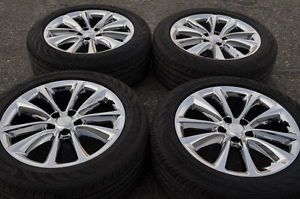 "Buick Verano 18"" PVD Chrome Wheels Rims Tires Factory Stock Wheels"