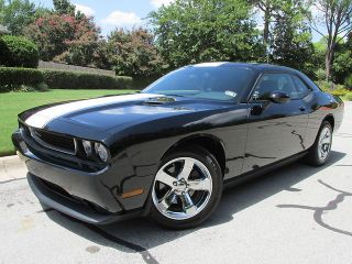 "2013 Challenger SXT Like New Rally Racing Stripes Chrome 18"" Wheels"
