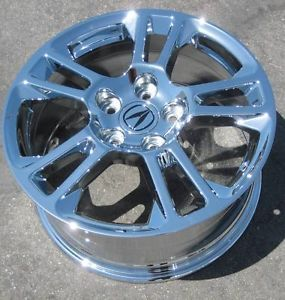 "Exchange Your Stock 4 17"" Factory Acura TL Chrome Wheels Rims 2009 2011 71785"