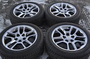 "Chevrolet Malibu 17"" Chrome Wheels Rims Tires 2013 2014"