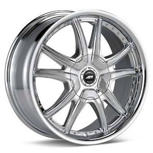 17 inch American Racing 17x7 5 GM General Motors 5x115 Chrome Rims Wheels New