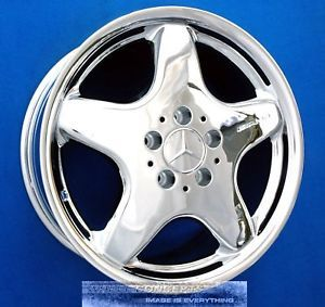 "Mercedes SLK320 SLK230 AMG 17"" Chrome Wheel Exchange"