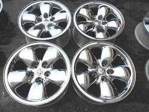 "Dodge RAM 20"" Chrome Alloy Wheel Rims Rim Set LKQ"
