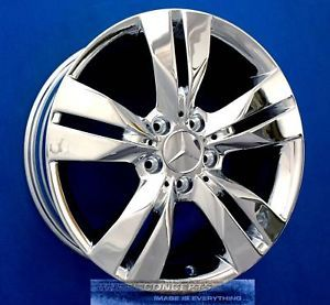 "Mercedes SLK350 17"" Chrome Wheel Exchange CLK SLK 350"