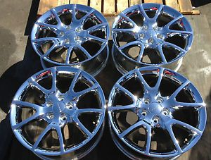 17'' 2012 2013 Dodge Dart Factory Wheels Rims Chrome 98425