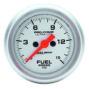 Electric Fuel Pressure Gauge