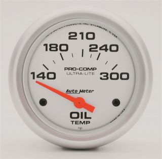 Auto Meter 4447 Ultra Lite Electric Oil Temperature Gauge