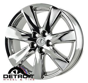 "19"" Lexus LS LS460 LS600 PVD Chrome Wheels Rims 2007 08 09 10 11 12 13 74248"